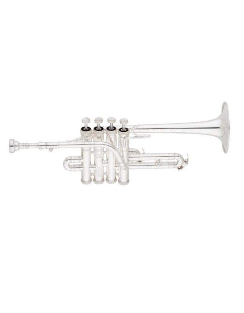 Eastman ETR823 Piccolo Trumpet - Silver Plate
