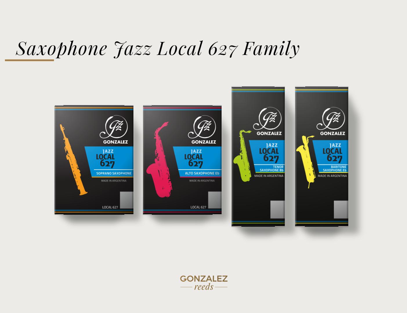GONZALEZ JAZZ Reeds