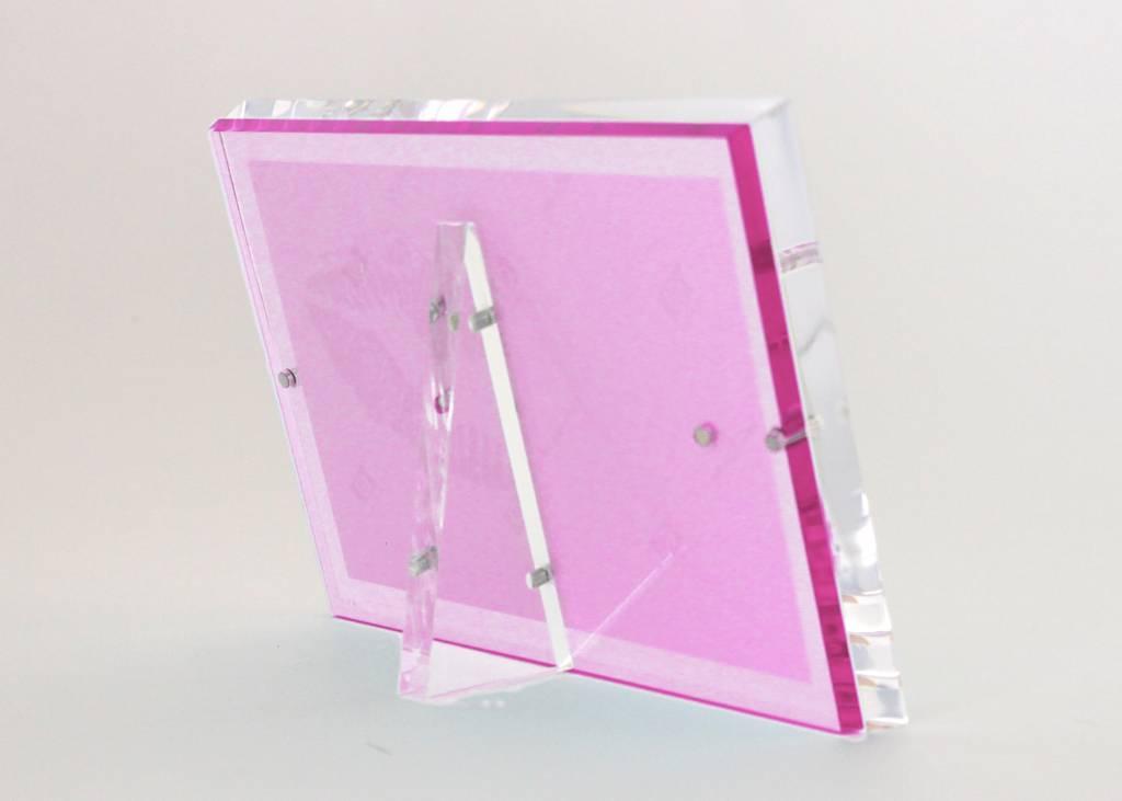 Alexandra Von Furstenberg Snap Frame in Rose 5x7