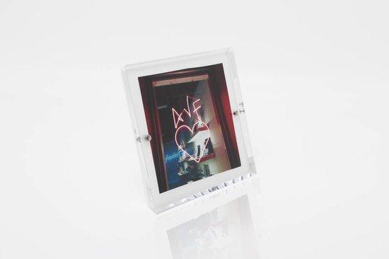 Alexandra Von Furstenberg Snap Frame in White 5x5