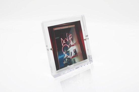 Alexandra Von Furstenberg Snap Frame in Clear 5x5