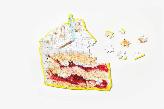 Areaware Little Puzzle Thing | Birthday Cake