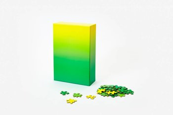 Areaware Gradient Puzzle Small, Green/Yellow