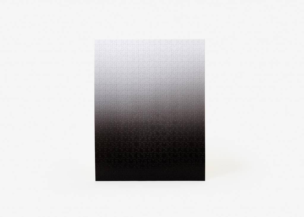 Areaware Gradient Puzzle Small, Black/White