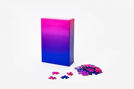 Areaware Gradient Puzzle Small, Blue/Pink