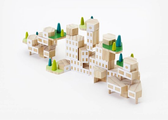 Areaware Blockitecture® Garden City Mega Set
