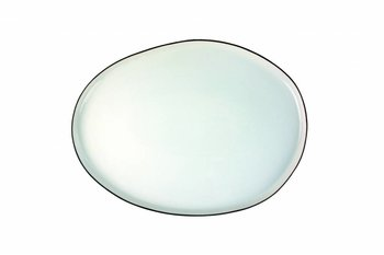 Canvas Home Abbesses Small Platter Black Rim