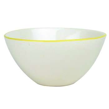 Canvas Home Abbesses Large Bowl Yellow Rim - Set of 2