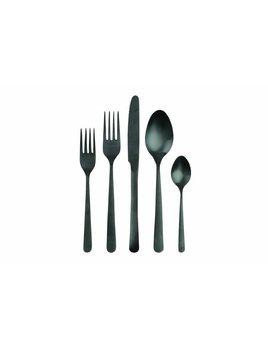 Canvas Home Como Cutlery Set in Matte Black