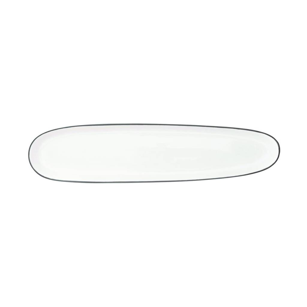 Canvas Home Abbesses Oblong Plate - Set of 4