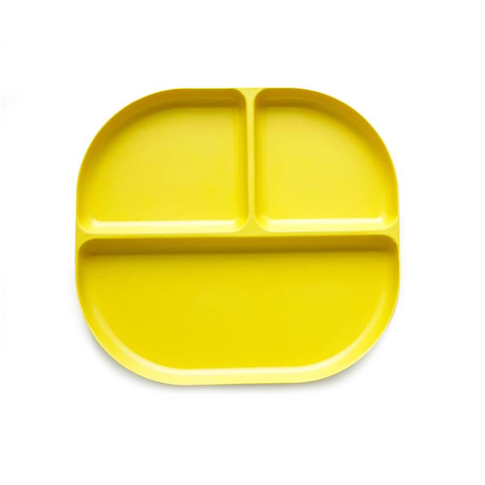 Ekobo Bambino Divided Tray | Lemon