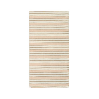 Heather Taylor Home Multi Stripe Blush Napkins