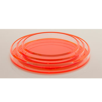 Alexandra Von Furstenberg Infinity Nesting Trays in Orange