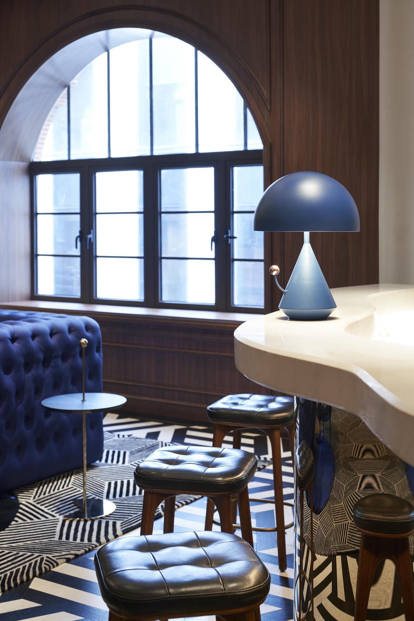 Maison Dada Dali Divina Table Lamp in Blue