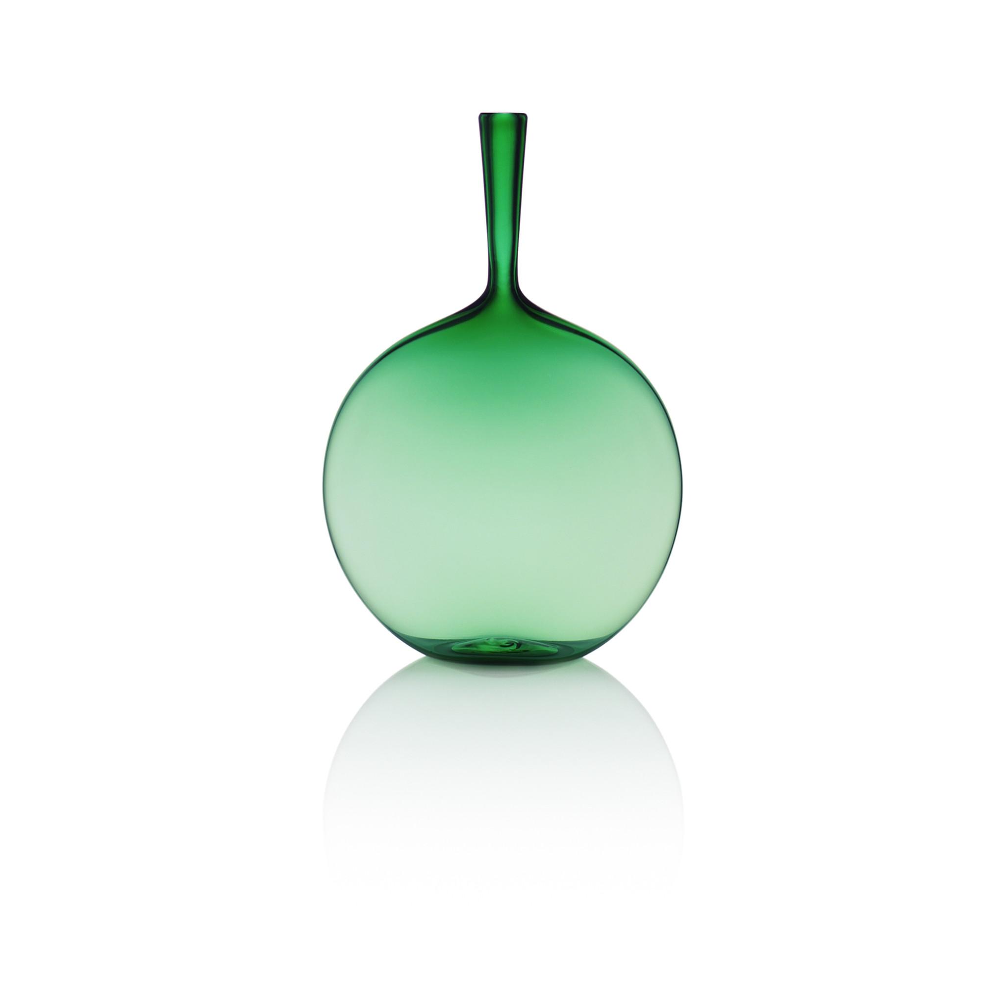 Joe Cariati Flask Angelic Bottle Emerald