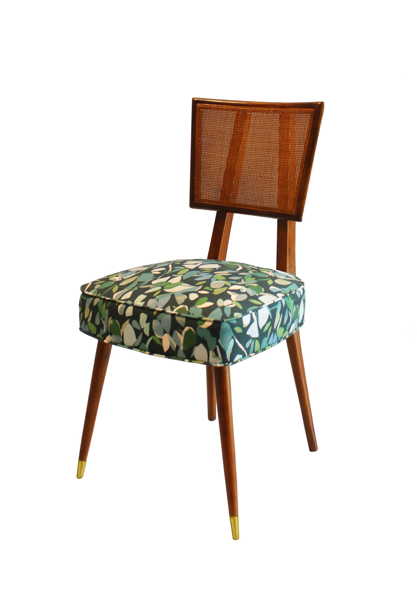 Edward Wormley/Dunbar Midcentury Dining Chairs in the Manner of Dunbar (Set of 6)