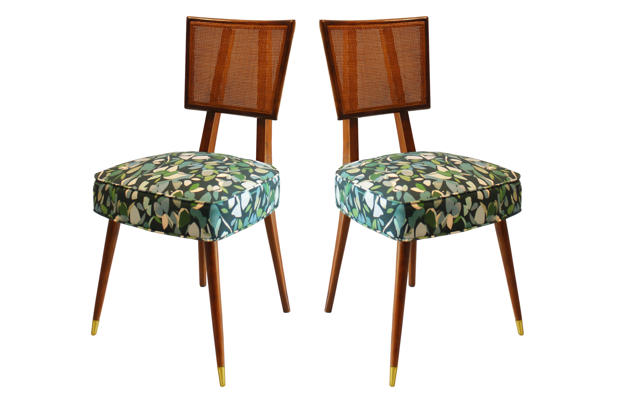 Remarkable Midcentury Dining Chairs In The Manner Of Dunbar Set Of 6 Ibusinesslaw Wood Chair Design Ideas Ibusinesslaworg