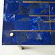 Demuro Das Studio Azure Center Table, Lapis Lazuli