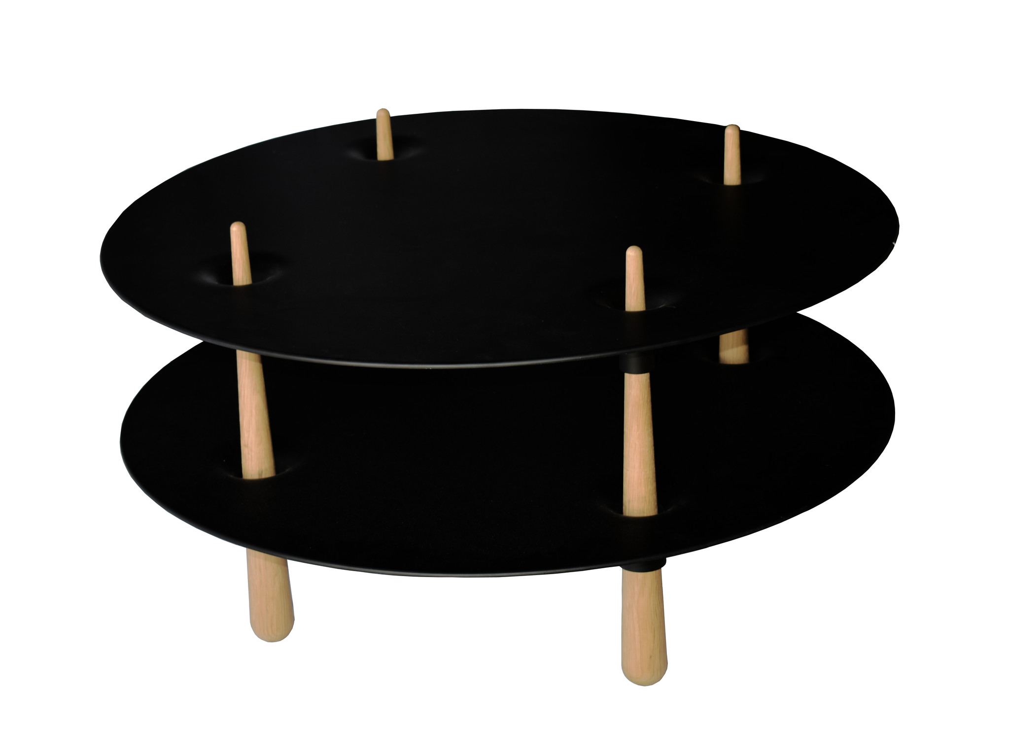 Lawrence Laske Black Hole Occasional Table