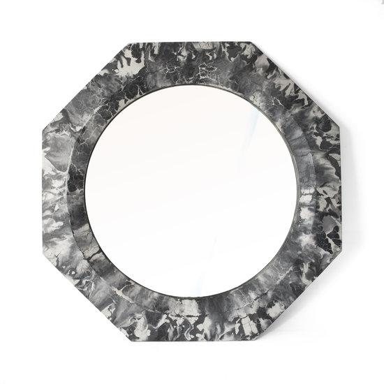 Concrete Cat Athena Mirror | Oracle -  Black and White