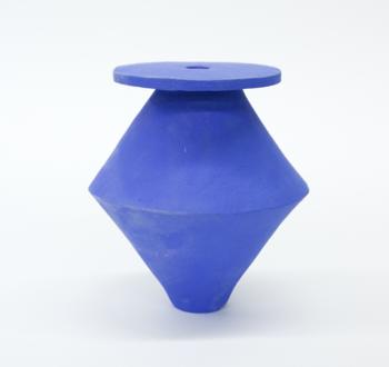 B. Zippy SM Diamond Klein Blue Vase