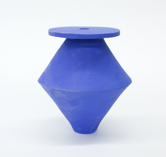 BZippy & Co. SM Diamond Klein Blue Vase