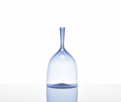 Joe Cariati Wide Angelic Bottle Steel Blue