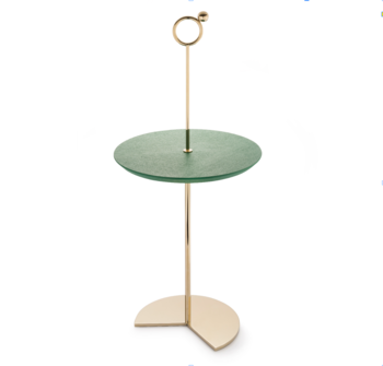 Maison Dada Off The Moon Sidetable N.5 Champagne W/Green