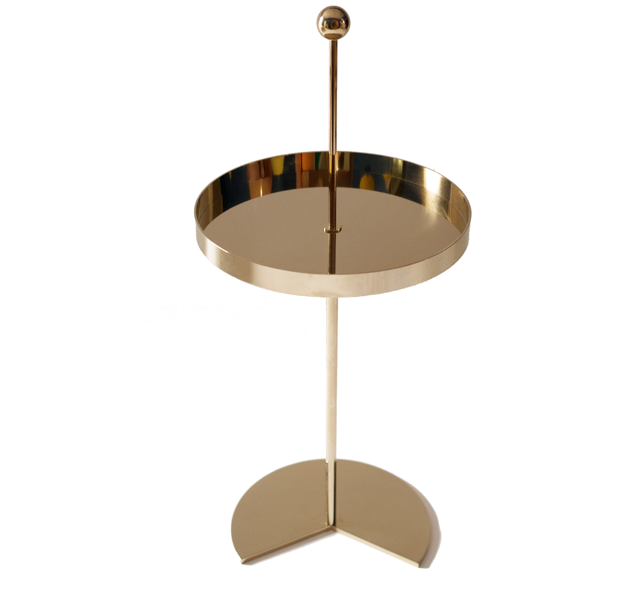 Maison Dada Off The Moon Sidetable N 3 Glossy Champagne