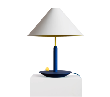 Maison Dada Little Eliah Table Lamp Blue Deep Yellow Chick