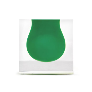 Jonathan Adler Bel Air Mini Scoop Vase Emerald