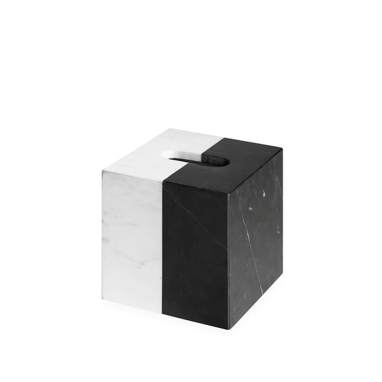 Jonathan Adler Canaan Marble Tissue Box