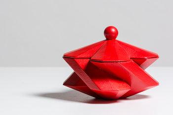 Bohinc Studio Fortress Treasury Box Red