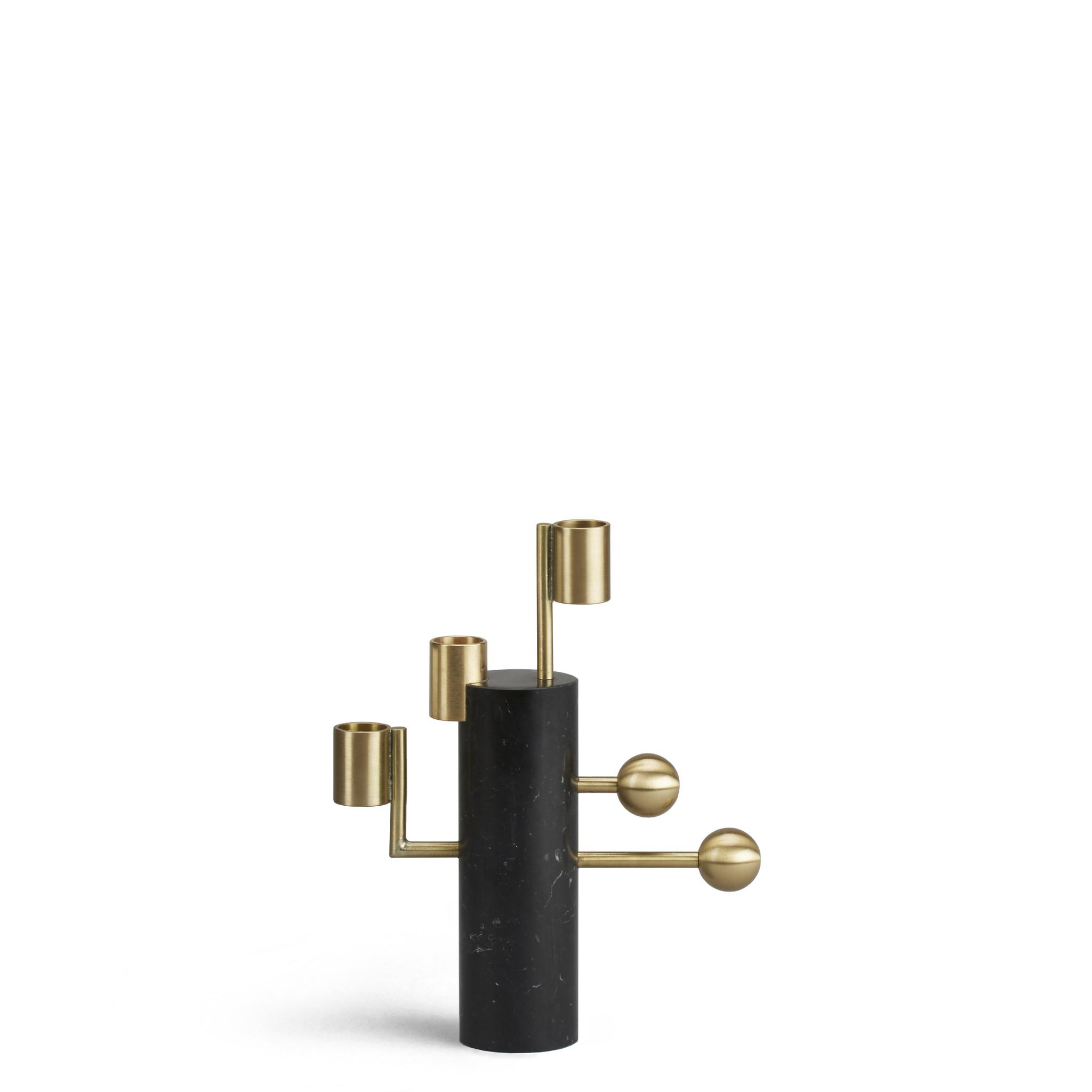 Bohinc Studio Stargazer Candleholder Multi Nero Marquina