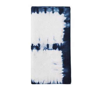 Kim Seybert Congo Napkin White & Blue
