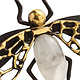 Kim Seybert Fly Away Napkin Ring | Black