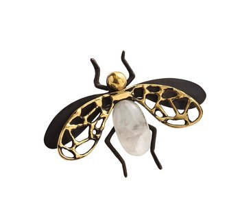 Kim Seybert Fly Away Napkin Ring | Black