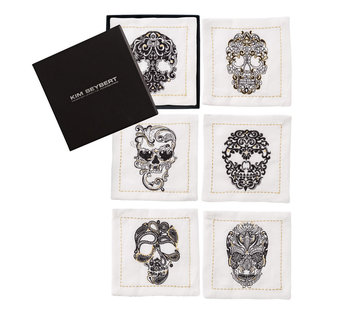 Kim Seybert Catrina Cocktail Napkins | Set of 6