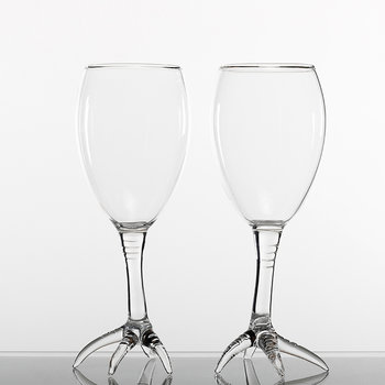 Simone Crestani Gajna Wine Glasses Set of 2
