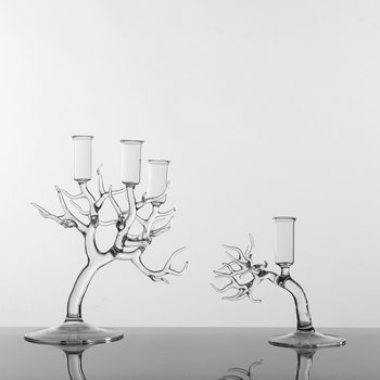 Simone Crestani Bonsai Three Candle Holder