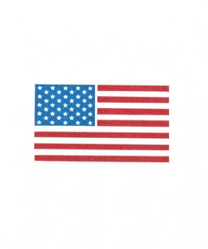 Thornwillow Press American Flag Cards, Set of 10
