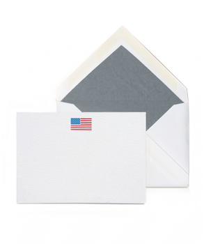Thornwillow Press American Flag, 16 Flat Cards