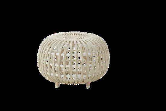 Sika Design Franco Albini Ottoman in Small White