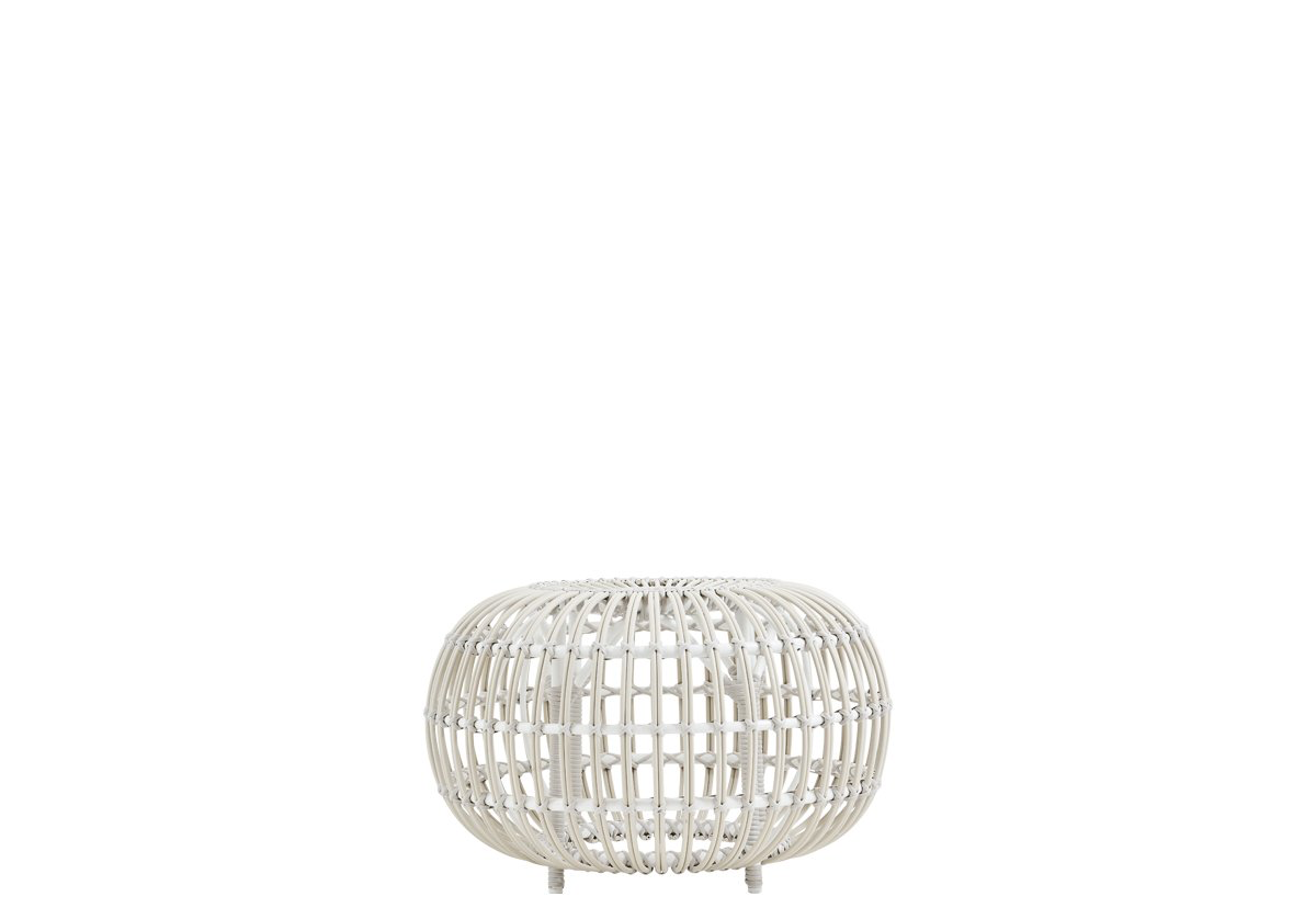 Sika Design Franco Albini Ottoman in Large White