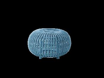 Sika Design Franco Albini Ottoman in Large Blue