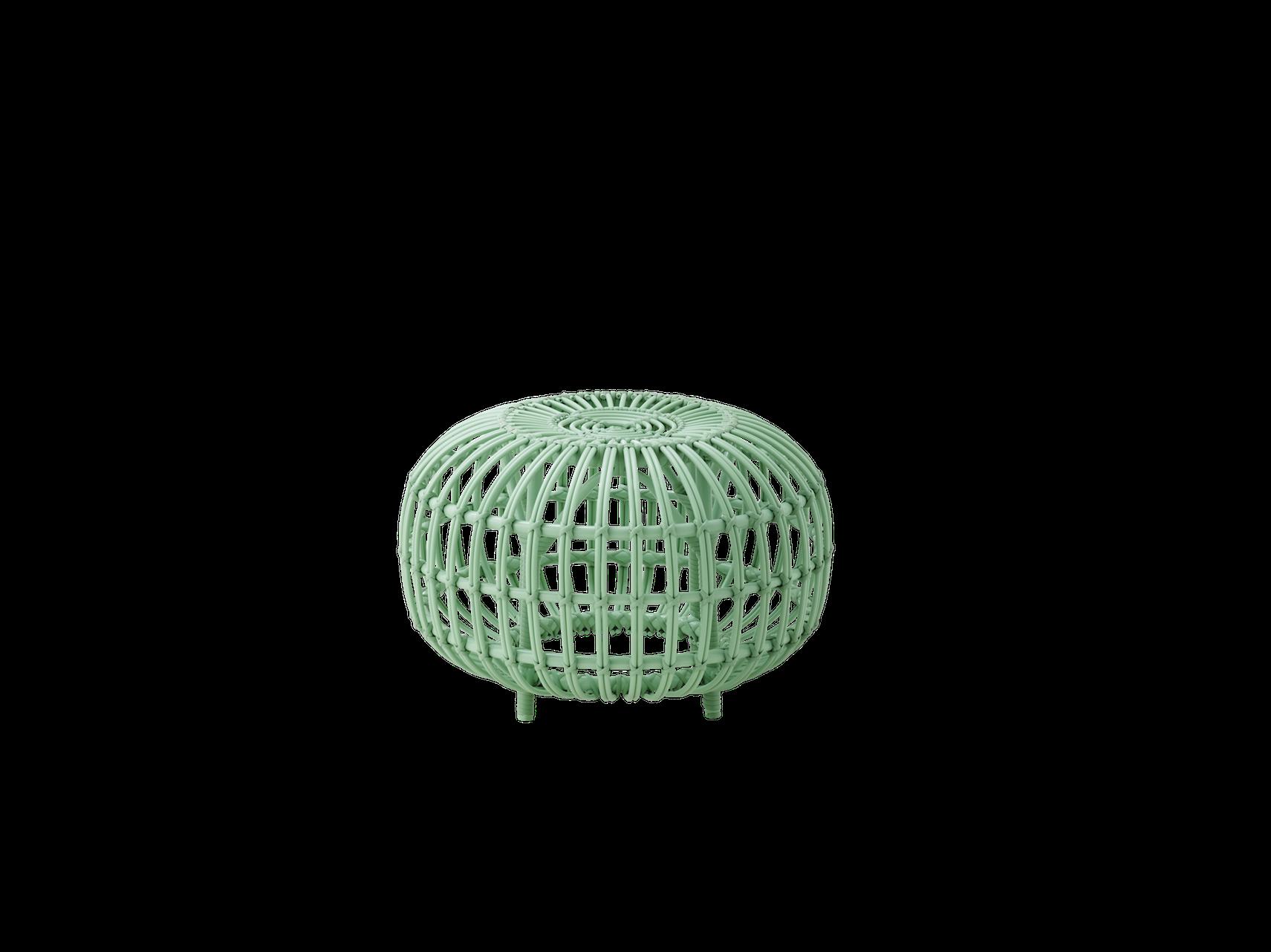 Sika Design Franco Albini Ottoman in Small Mint