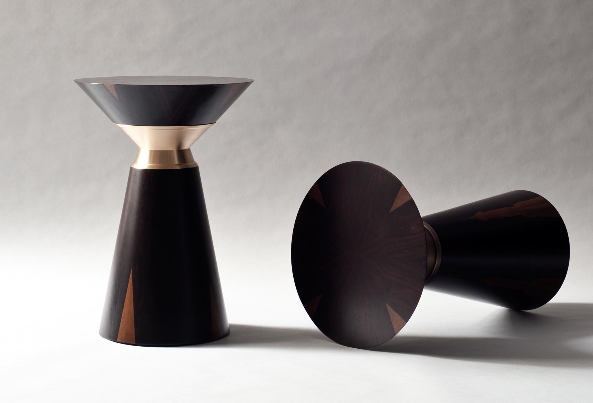 Demuro Das Bolo Side Table in Ziricote