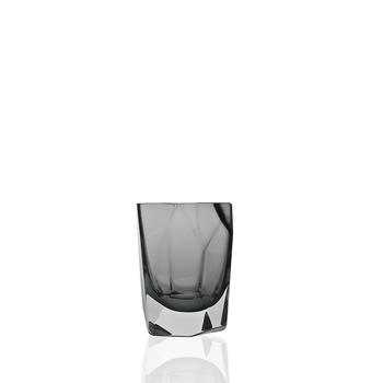 Nouvel Studio Mipreshus Shot Glass | Set of 4 in Neutral Gray