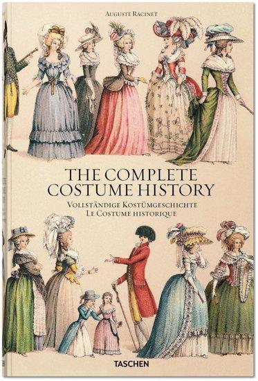 Taschen Auguste Racinet: The Complete Costume History
