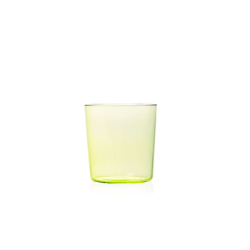 Nouvel Studio Small Apollo Tumbler in Lime Yellow | Set of 4